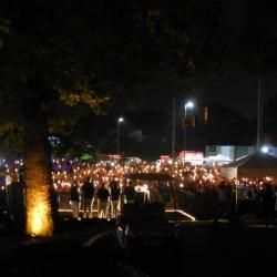 Candlelight Vigil Graceland Aug. 2018